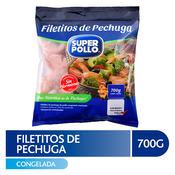 Filete de Pollo 700g