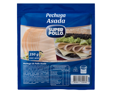 Pech Asada 250gr. SP(Super Pollo)